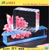 明確なアクリルの卓上カレンダー(AM-MC41)