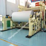 Máquina de enrollamiento de papel neumática horizontal