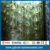 201 0,5 mm d'épaisseur Gravure en acier inoxydable Liste des prix
