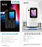 Cartão duplo do telefone SIM caraterística de Gfive B310 1.77 da ''