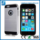 Soem-Pinsel-Satin-Handy-Verteidiger-Fall für das iPhone 6/6 Plus