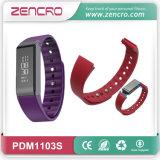 Wristband elegante de Bluetooth de la flexión del perseguidor de la actividad de la pantalla táctil de OLED