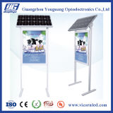 LED accionado solar lateral doble Box-SOL-60 ligero