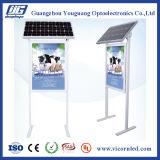 Diodo emissor de luz psto solar lateral dobro Box-SOL-60 claro