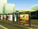Укрытие автобусной остановки нержавеющей стали (HS-BS-A002)