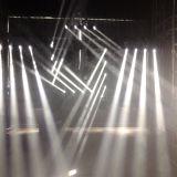 단계 (HL-018BM)를 위한 전문가 4*40W 소형 LED 이동하는 맨 위 광속