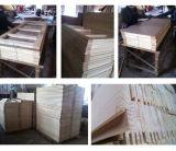 Porta pintada nivelada barata econômica do MDF da madeira contínua do carvalho (SC-W100)