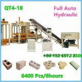 Bloc concret de brique hydraulique complètement automatique de Cabro faisant la machine