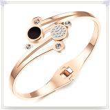 Edelstahl-Armband-Kristallschmucksache-Form-Armband (BR343)