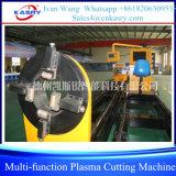 Машина многофункционального вырезывания плазмы скашивая для пробок и профилей труб