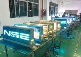 Visualizzazione di LED esterna della parte superiore del tassì dell'annuncio dello schermo di colore completo LED