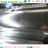 Aço galvanizado mergulhado quente da bobina do metal de folha