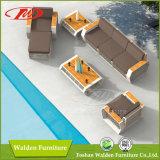 Neues Rattan-im Freienmöbel-Set des Garten-2016