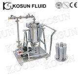 Filtre à eau en titane à essence et à liquide en acier inoxydable