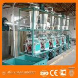 Maquinaria automática vendedora superior del molino harinero de maíz del acero inoxidable