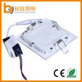 Instrumententafel-Leuchte 145*145mm CRI>75 der Lieferant-quadratische Decken-9W LED