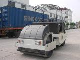 8 ton Twee de Statische Wegwals van de Wegwals van het Wiel voor de Machine van de Verkoop