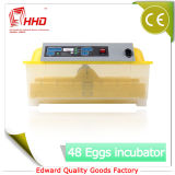 Инкубаторы яичка автоматической цыплятины сертификата CE миниые