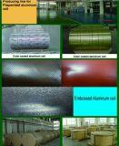 색깔에 의하여 입히는 돋을새김된 알루미늄 장