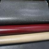 Искусственним выбитая Faux кожа губки PVC PU имитационная синтетическая для изготовления фабрики крышек места автомобиля мебели софы автоматического
