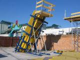 Système incliné de coffrage de colonne pour la construction (LW-CF01)