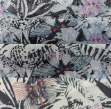 Tessuto dell'indumento di modo di stampa del poliestere con il reticolo della Gran-Farfalla
