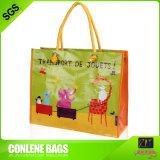 編まれた印刷された買物袋(KLY-PP-0061)