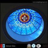 Vidro colorido / vidro da igreja