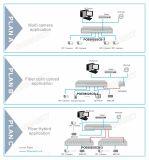 8つのポートの完全なギガビットPoeおよび2 Sc Poeスイッチ(POE0802SCB-3)