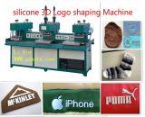 Etiqueta do vestuário da etiqueta da roupa do silicone que faz a máquina