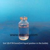 5ml löschen die Röhrenglasphiolen, die vom niedrigen Borosilicat-Glas hergestellt werden