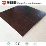 Suelo de bambú tejido filamento del color de la nuez
