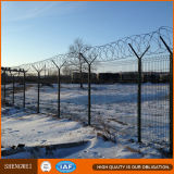 Schwarzes geschweißter Maschendraht-Zaun für Hinterhof