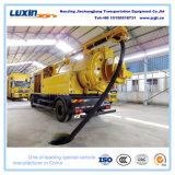 camion di trivellazione a getto di vuoto di pulizia della fogna di 4X2 Dongfeng