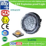 Dispositivo de iluminación a prueba de explosiones de Atex Exdi LED