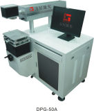 ガラスは組み立てるレーザーのマーキング機械(DPG-50)を