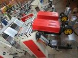 Voller automatischer Hochgeschwindigkeitsshirt-Beutel, der Maschine herstellt