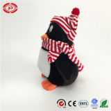 Jouet mou de pingouin de peluche de jouet de Noël du bel de Tencent hiver de cadeau