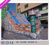 子供のための最も新しい上の印刷の防水シートのタイプ膨脹可能な警備員のスライド