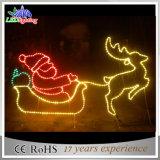 手頃な価格LEDのクリスマスの屋外の装飾のトナカイおよびそりライト