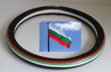 Cubierta del volante del coche de la bandera nacional de la alta calidad