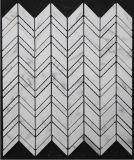 Горячее изготовление плиток мозаики Китая Statuary белое мраморный