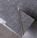 Pedra/coberta/revestimento/pavimentação/telhas/lajes pretos do basalto da pérola G684 de China/granito