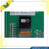 Visualización OLED de 0.66 pulgadas 64X48 con el precio bajo