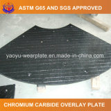 ホッパーライニングのための摩耗の版を耐摩耗加工するクロムの炭化物