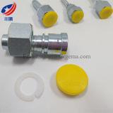 Constructeur convenable hydraulique femelle femelle métrique de ajustement de Dki d'embout de durites d'ajustage de précision de pipe de portée de cône de 20711 74 degrés