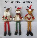 ZelfBabysitter van de Decoratie van Kerstmis van de Sneeuwman en van het Rendier van de Kerstman van de lente Legged