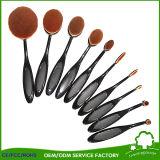 La belleza facial del cepillo de los cosméticos del polvo del pelo de los cepillos de nylon suaves del maquillaje filetea Brochas Maquillaje para el maquillaje