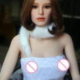 Sapm107Aの生命によって大きさで分類されるシリコーンの性の人形の金属の骨組実質の感じ愛人形