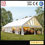 Barraca branca do banquete de casamento da decoração bonita do fio para a venda